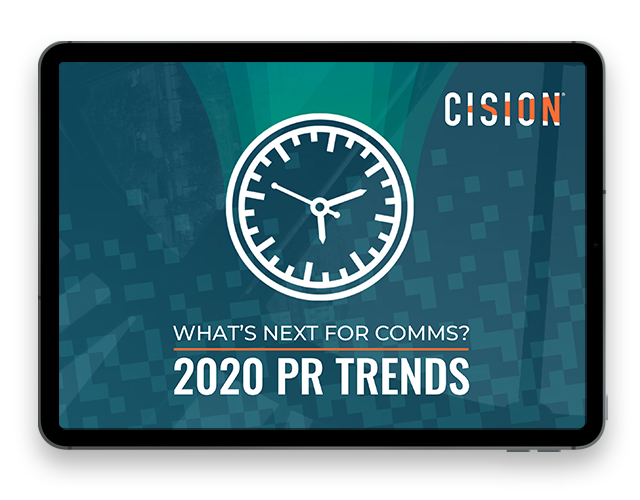What's Next For Comms: 2020 PR Trends
