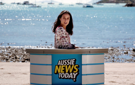 Australia in the news with its latest youth campaign  -- /PRNewswire/