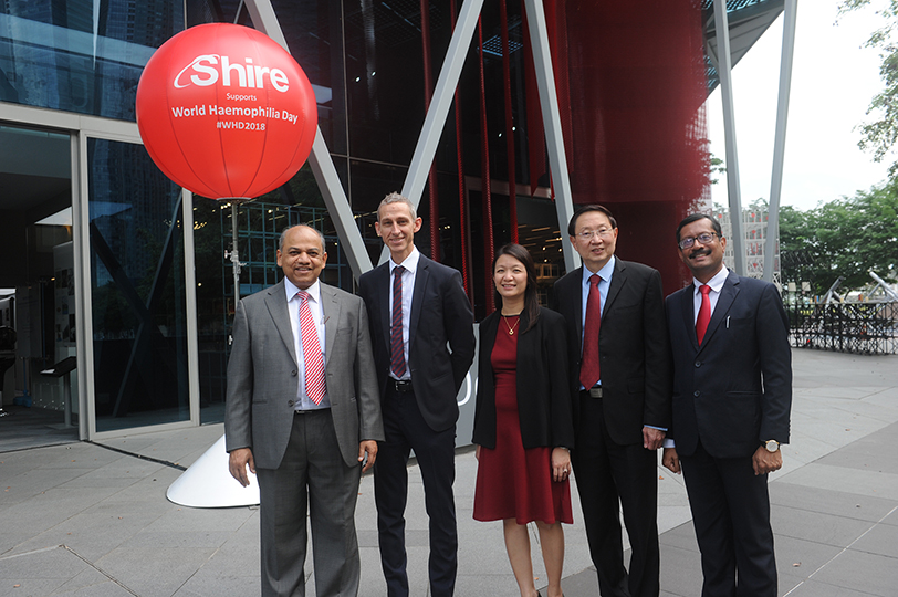 On World Hemophilia Day 2018, Shire Unites Communities in Asia Pacific and Advocates for 'Principles of Care'