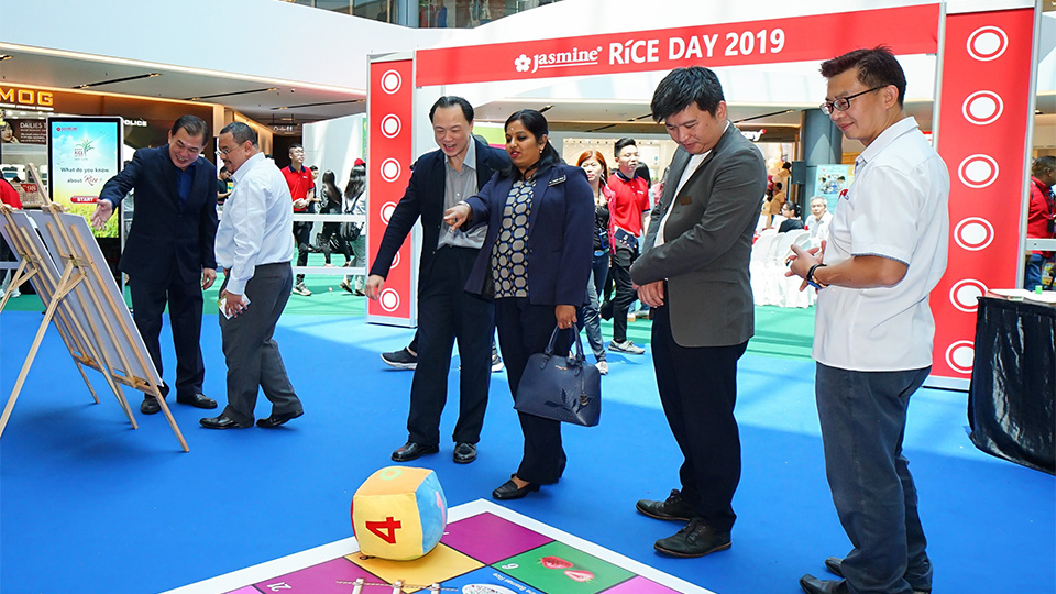VIP Guest exploring the Jasmine's Rice Day 2019, Healthy RiceStyle