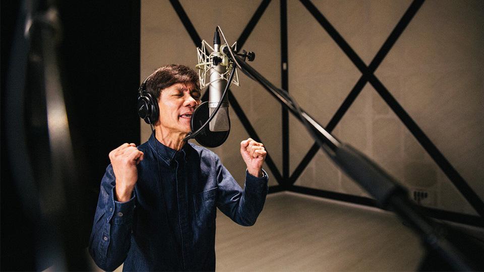 Wang Lei, a local Getai legend, sang the Hokkien ballad for the film